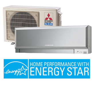 Mitsubishi Ductless Heat Pump Mini-Split System - Home Performance With ENERGY STAR
